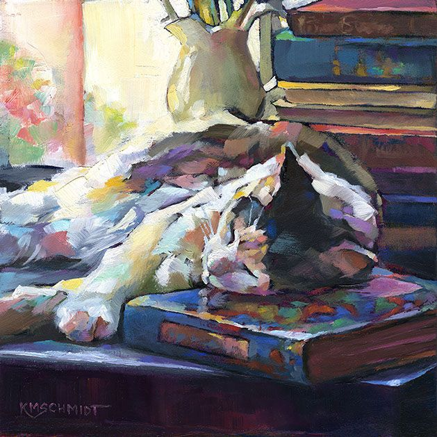 KMSchmidt Cat Paintings