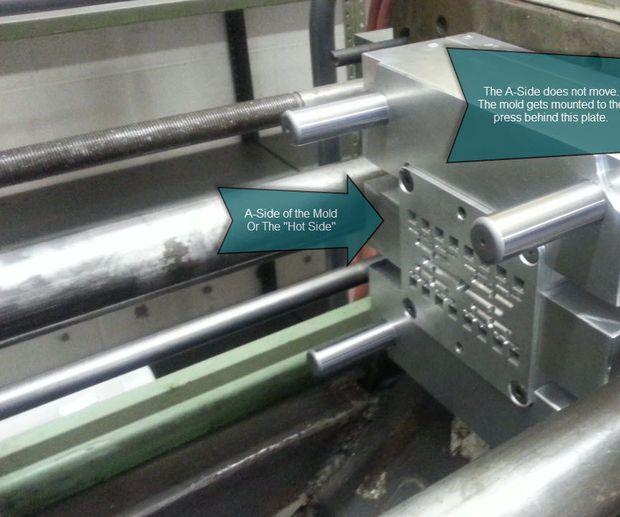 La construcción de un molde de inyección de plástico - Lección 1 de 10 básicas Realización de molde
