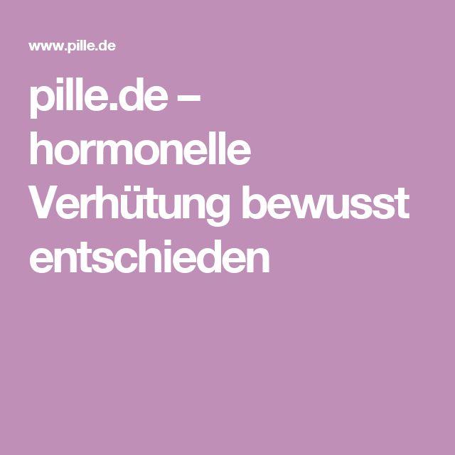 pille.de – hormonelle Verhütung bewusst entschieden