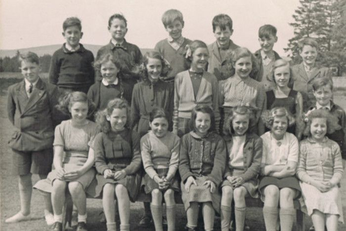 The photograph of some senior pupils at Glen Tanar School dates to the 1940s. http://ift.tt/2vA2GNE