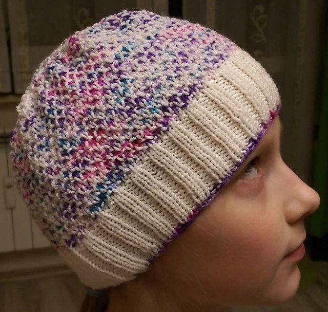 855ca4d580c Ravelry  Project Gallery for Broken Seed Stitch Hat pattern by Lena  Mathisson
