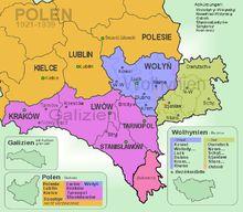 Galizien und Wolhynien in der Zwischenkriegszeit