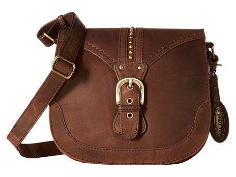 Born Canolo Saddle Bag Chocolate - 6pm.com