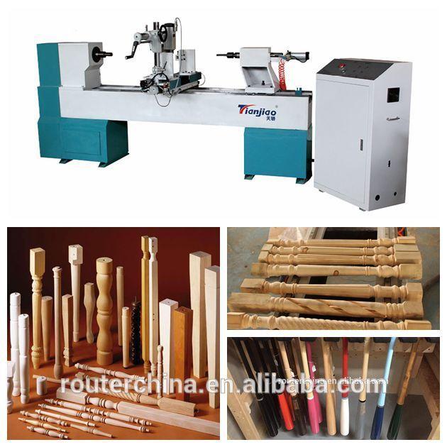 Automatic CNC Wood Turning Lathe Machine For Sale
