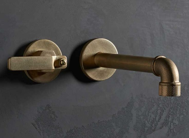 The Watermark Collection makes the most amazing brassware faucets.