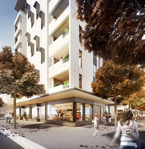 Lend Lease's Docklands project Forté will be world's tallest residential timber building