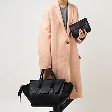 Celine coat and TIE bag | Celine Tie Bag | Pinterest | Celine ...