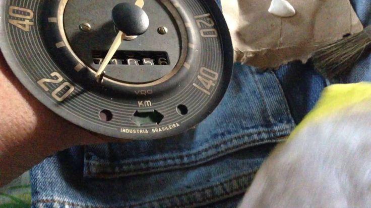 Materiais para restauração de velocímetro ou relógios antigos CanalDiFusca