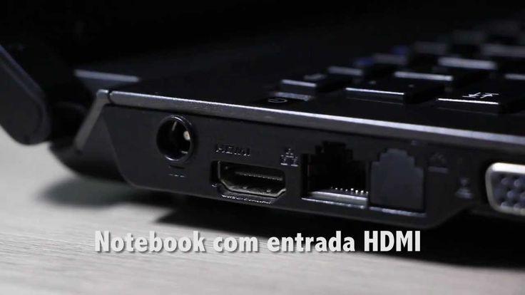 Como conectar notebook na TV com cabo HDMI