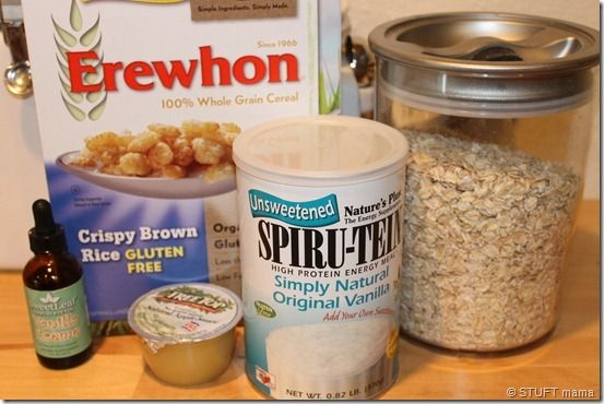 Stuft Protein Cookie  (via StuftMama)Protein Cookies