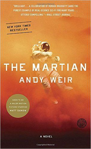 The Martian by Andy Weir: Mark Watney is stranded on Mars after an accident. He must survive until his team can rescue him. | Amazon: http://www.amazon.com/Martian-Andy-Weir/dp/0553418025/