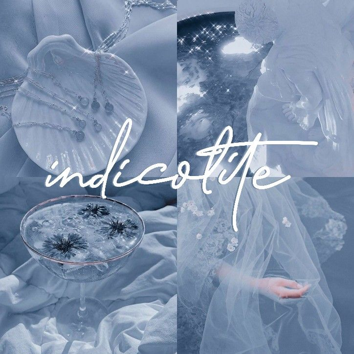 Indicolite in 2021 | Baby blue aesthetic, Aesthetic colors ...
