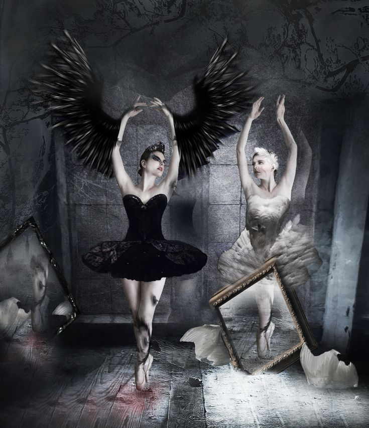 """inspired from the movie """"Black Swan""""... stock images : ~chamberstock , ~breathtakingstock , *phatpuppy , =night-fate-stock , ~shd-stock"""