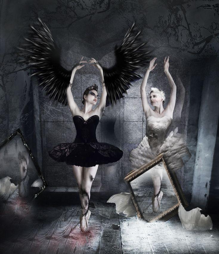 Black Swan by AdamBurn on DeviantArt