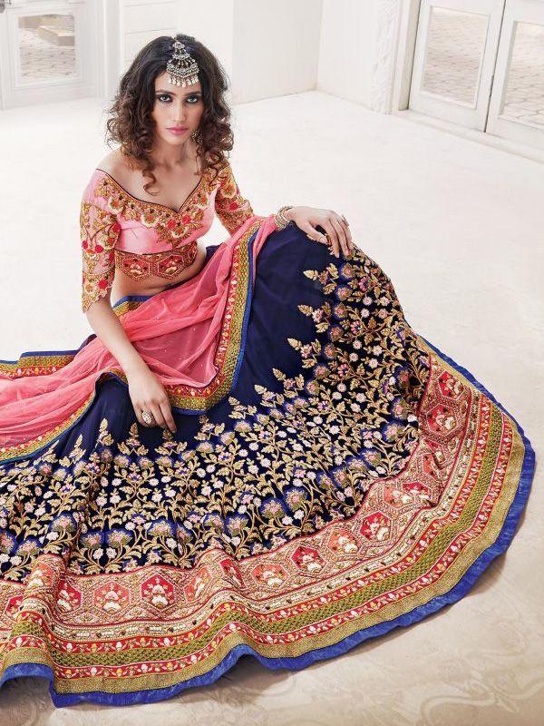 25 Latest Wedding Lehenga Choli Designs 2017