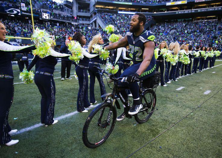 Michael Bennett Seahawks | Michael Bennett takes a victory lap | Seahawks Blog | Seattle Times