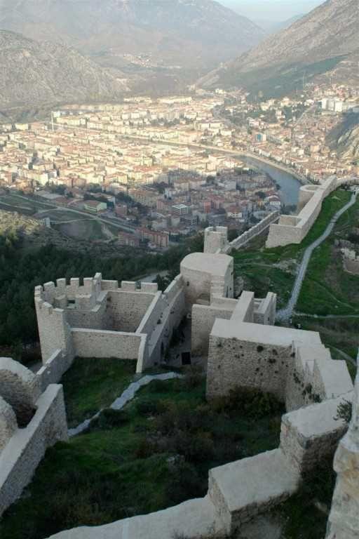 ✿ ❤ Amasya Castle - Tour Maker Turkey