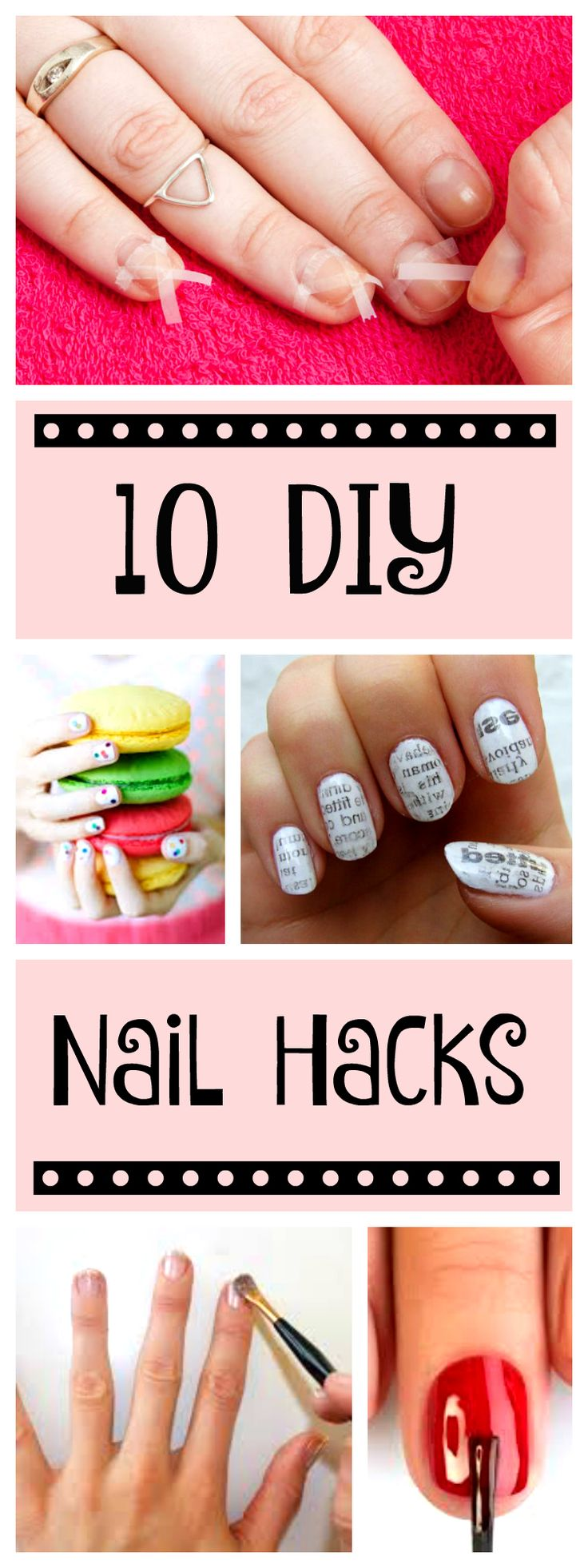 Nail polish design hacks the best inspiration for design and color 25 best ideas about nail hacks on pinterest diy nails easy nail designs and nail art tutorials solutioingenieria Choice Image