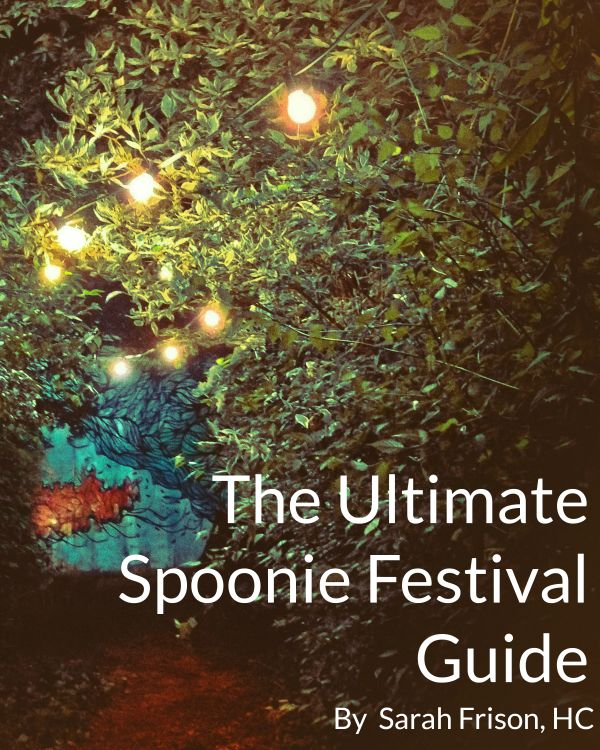 My Spoonie Festival Guide's had an update! Get your free copy of the new workbook to get you to a local festival.