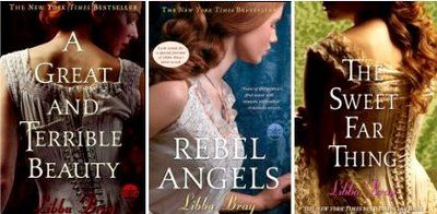 Gemma Doyle Trilogy - A great and terrible beauty, Rebel Angels, & The Sweet Far Thing. A young adult/teen series that is an interesting read for the target audience. I enjoyed them although the first book is by far the best of the three. Some would argue that Bray misses the chance to explore important issues. But I enjoyed them enough to read all three.