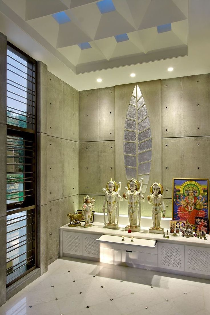 Interior design of home temple - Discover Some Of The Latest Indian Pooja Room Designs With Us A Traditional Hindu Family Always Has A Separate Room For Pooja And Holy Rituals