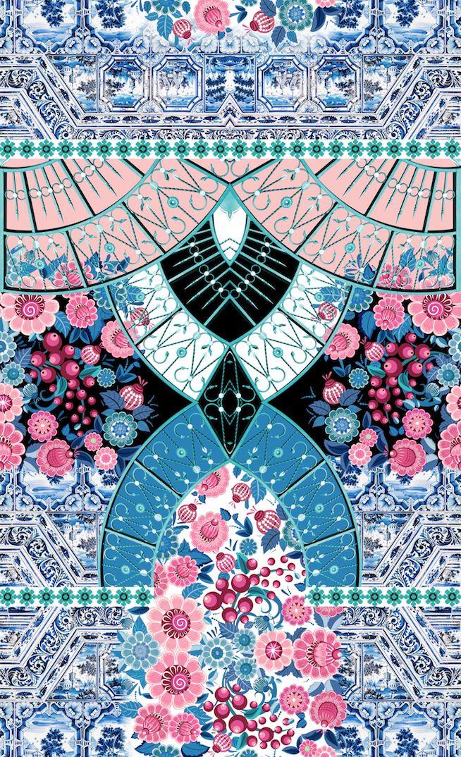 Estampa floral de Sheila Banderchuk