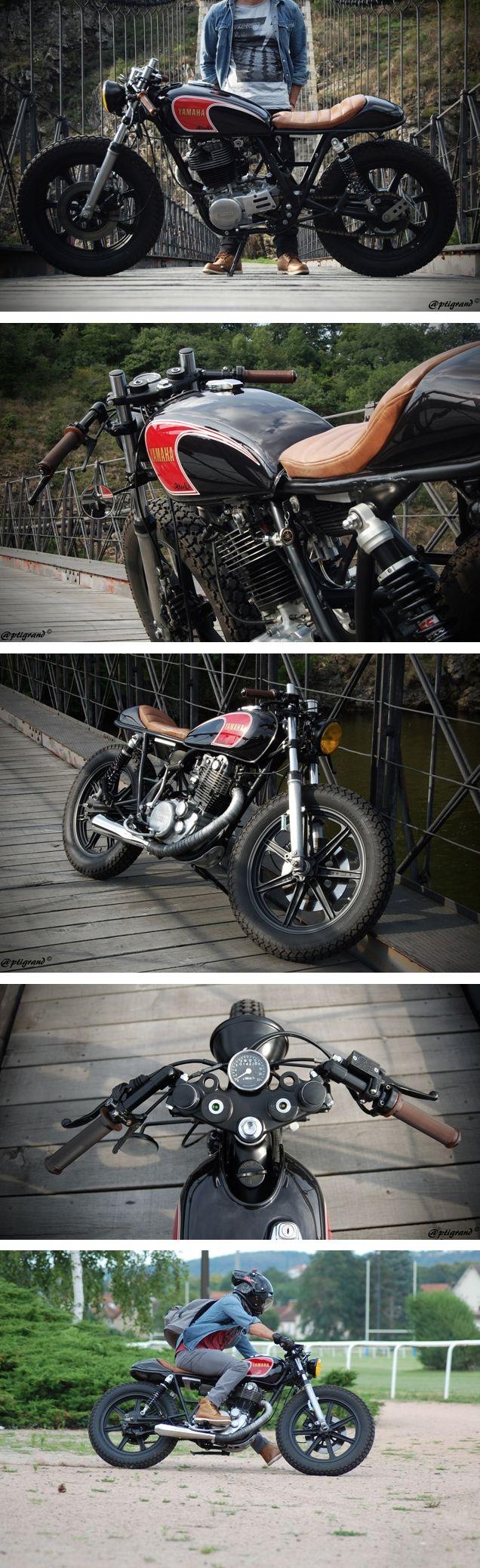 Yamaha SR 400 de 1982 par Nicolas A. - http://4h10.com/2014/08/yamaha-sr-400-iblackz/