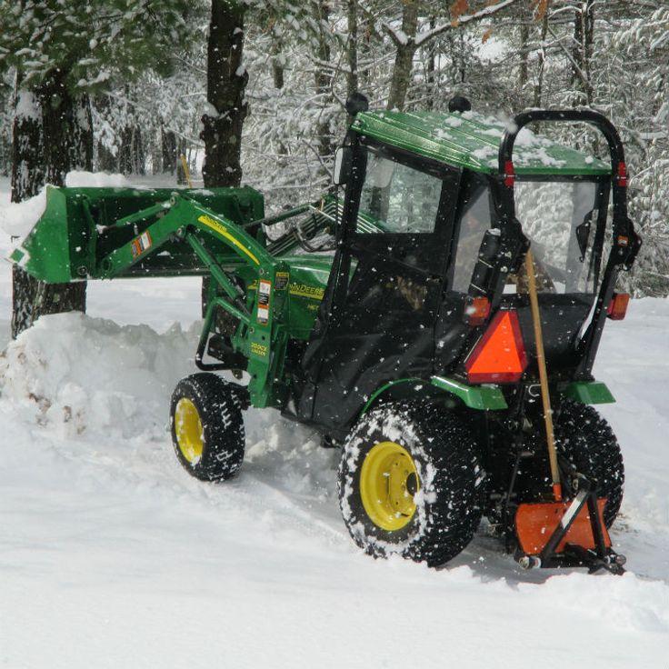 Hard Top Cab Enclosure for John Deere 2320 & 2025R Tractor