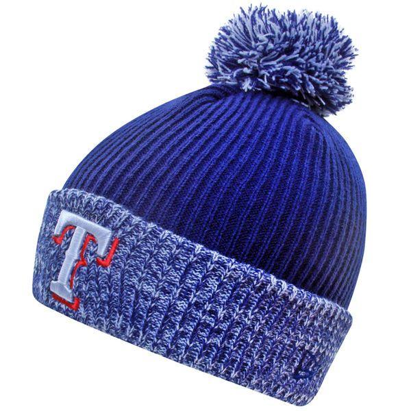 Texas Rangers New Era Flurry Frost Knit Hat - Royal Blue - $19.99