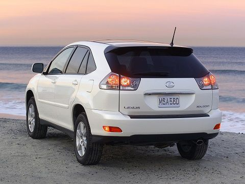 My ride 2005 Lexus RX330 Crystal White