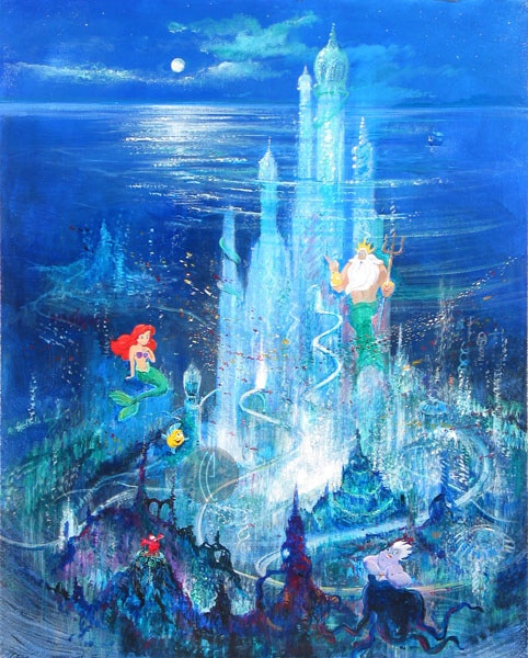 Underwater Mermaid Castle 17 Best images about V...