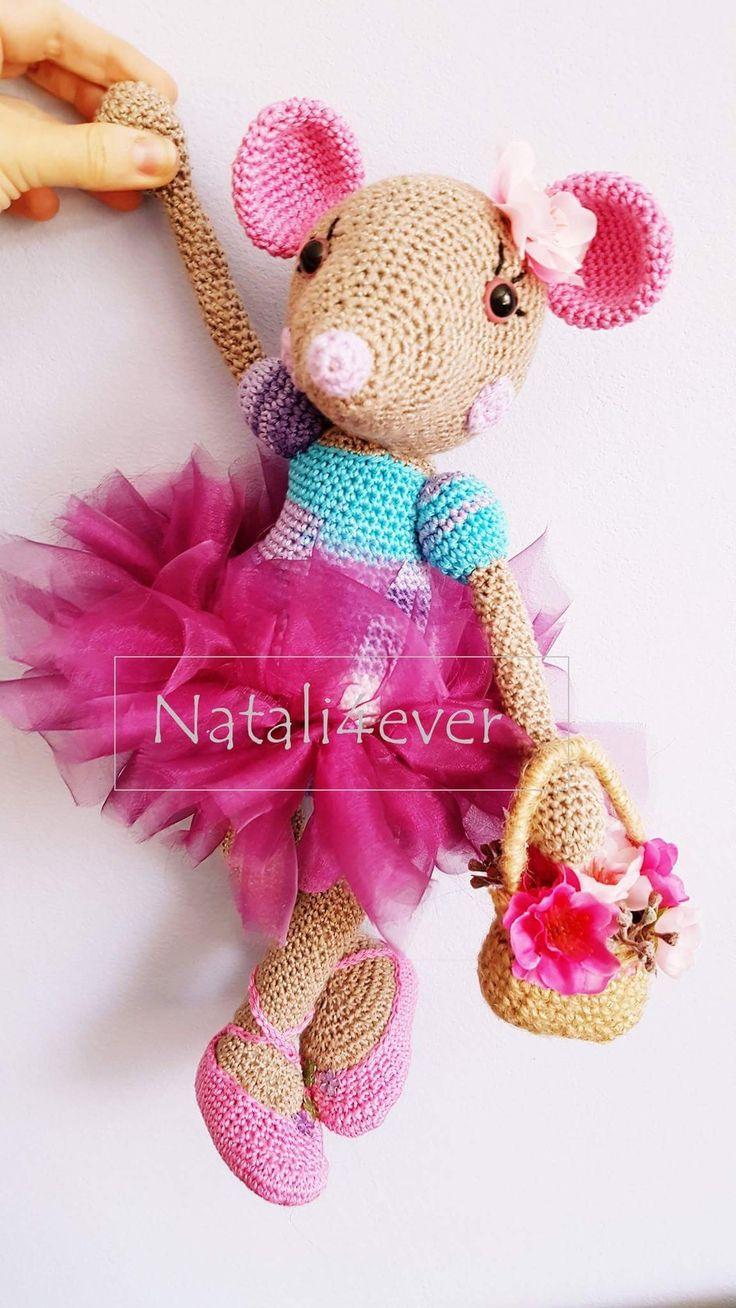 Angelina Balerina  Inspiration by Lilleliis #amigurumi #crochet