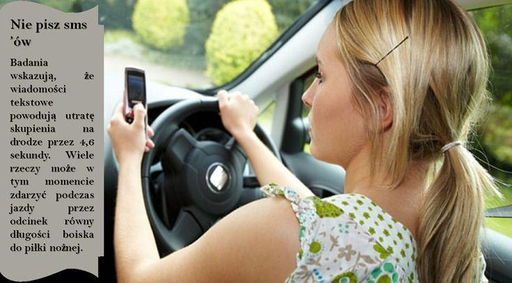 Nigdy nie używaj telefonu komórkowego podczas jazdy  jeśli rozmawiasz przez telefon komórkowy lub wysyłasz i odbierasz wiadomości tekstowe, nie poświęcasz  pełnej uwagi i nie będziesz wiedział, co dzieje się z innymi samochodami wokół ciebie . #oponynakazdapogode