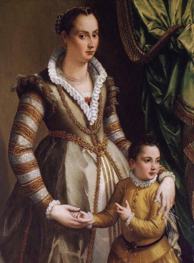 Alessandro Allori ~ Isabella de Medici