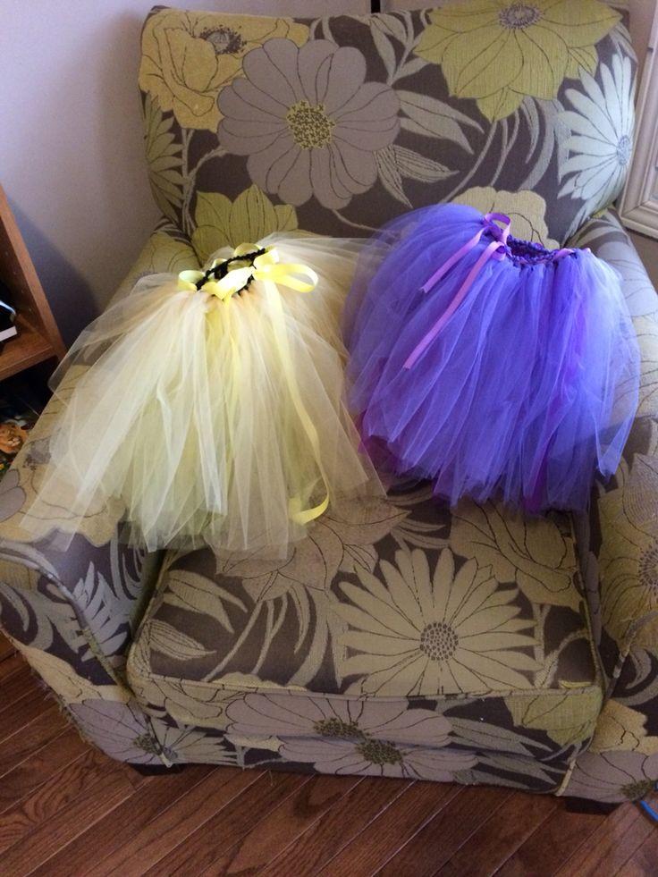 Birthday tutu skirts