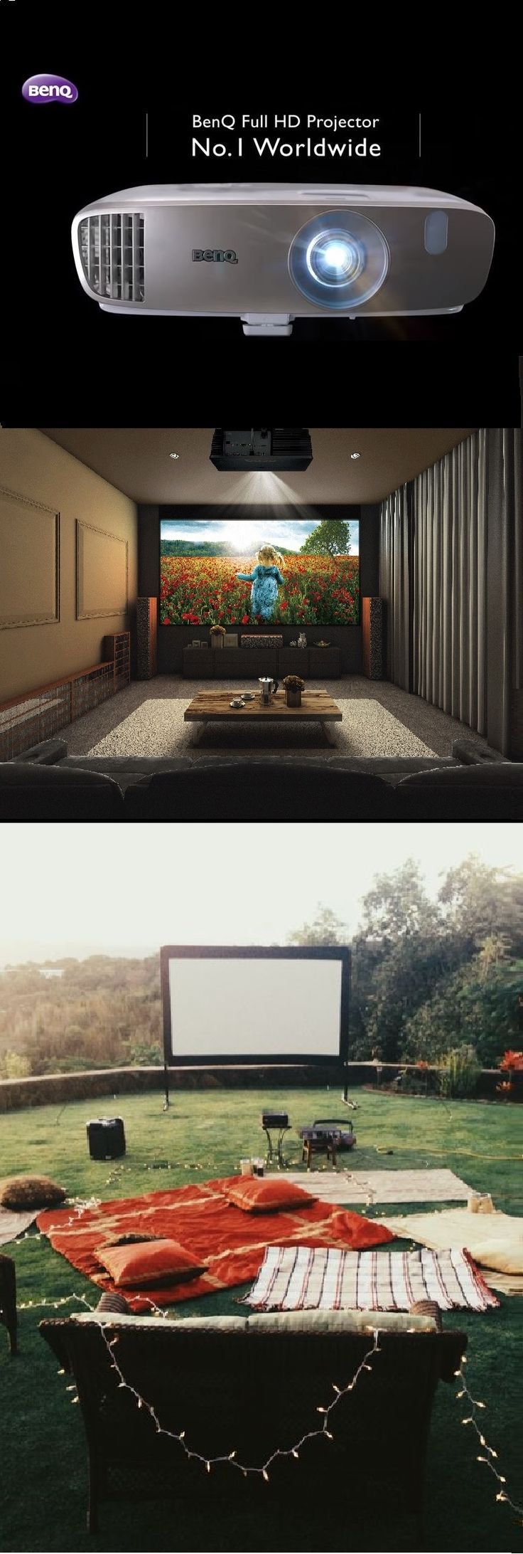 Aside from the Benq projector (w2000) ... l've measured the sizing and have decided to go for an approx. 2.8 metre wide outdoor movie screen, which should be a nice, balanced size for my garden and surrounding space.