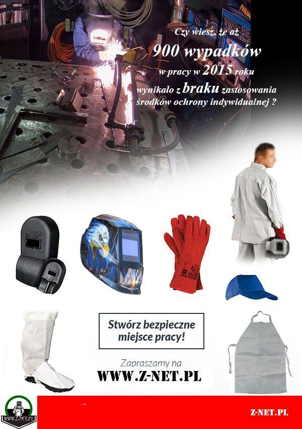 Stwórz bezpieczne miejsce pracy! Spawanie http://z-net.pl