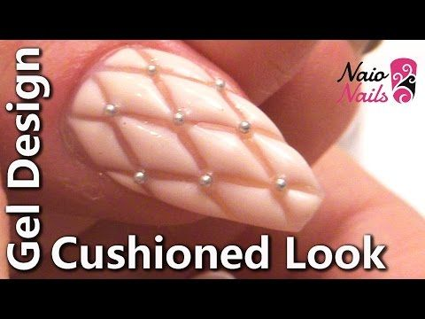 This video shows how to create an extravagant nail design in the shape and style…