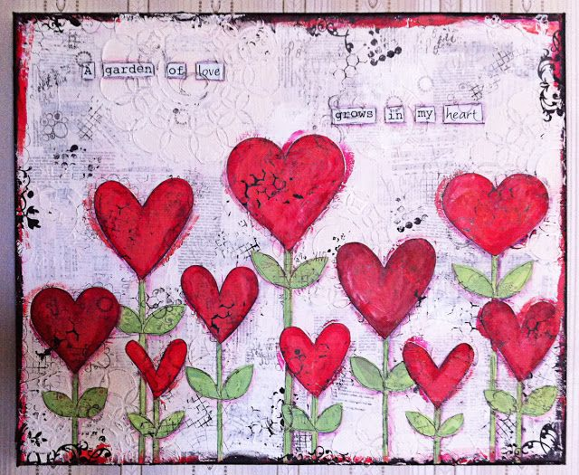 Hanna's crafts: a garden of love
