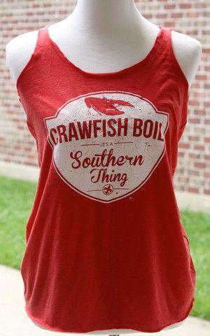 Crawfish Boil Tank - It's a Southern Thing – Boutique Estella