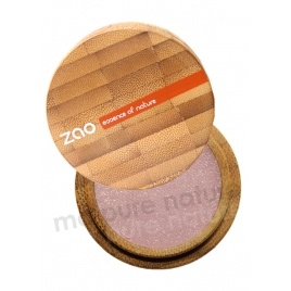Pinky Beige Organic Eyeshadow in a nice bamboo box: Zao makeup.