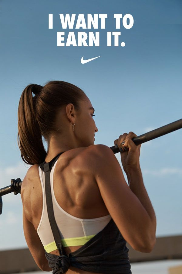 """""""I want to earn it. I don't want to be given it."""" – Nike Master Trainer Kirsty Godso"""