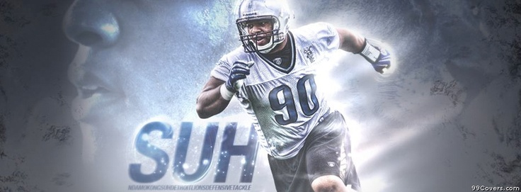 Suh Detroit Lions Facebook Covers
