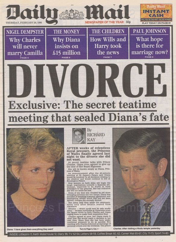 This pin is a treasure chest of amazing Diana photographs. The news goes on and on, documenting her life as a royal