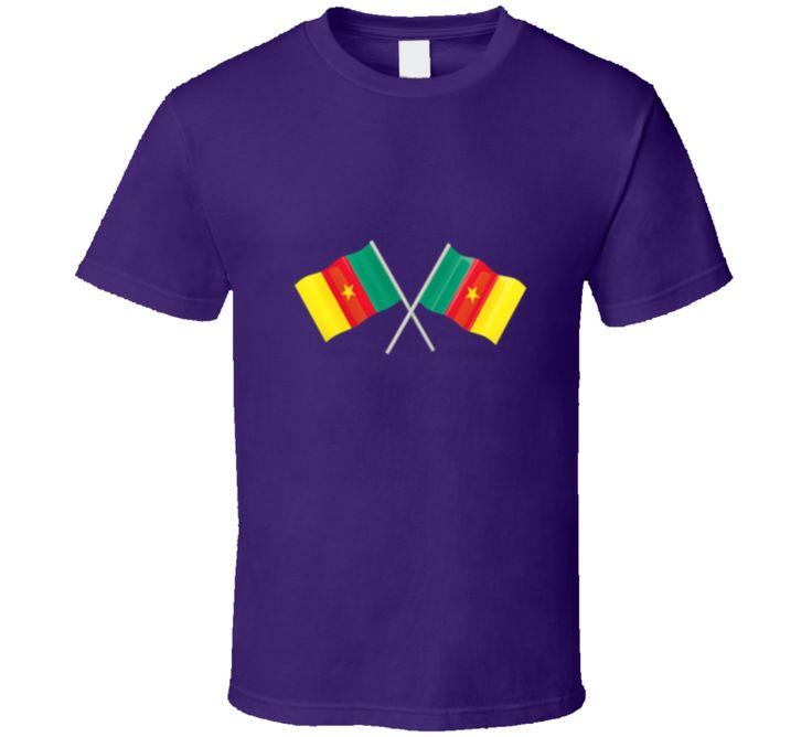 Cameroon Flag Tee Shirt