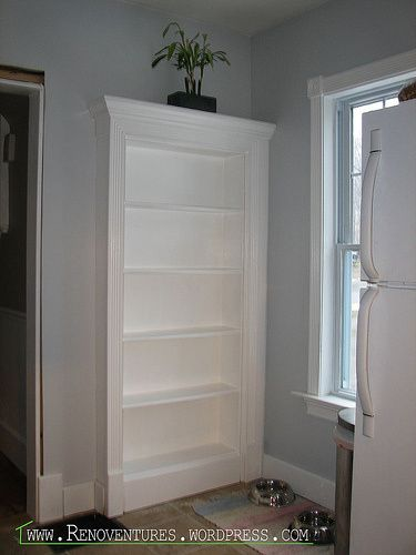 Bookcase Door!! Great tutorial that isn't too hard to follow and not a 5 on difficulty level!