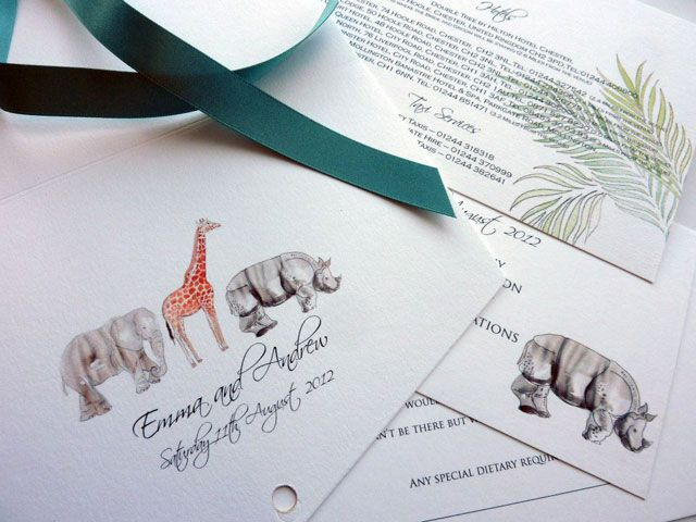 Papermonkeys | Alternative and Unusual Wedding Invitation Artwork and Designs