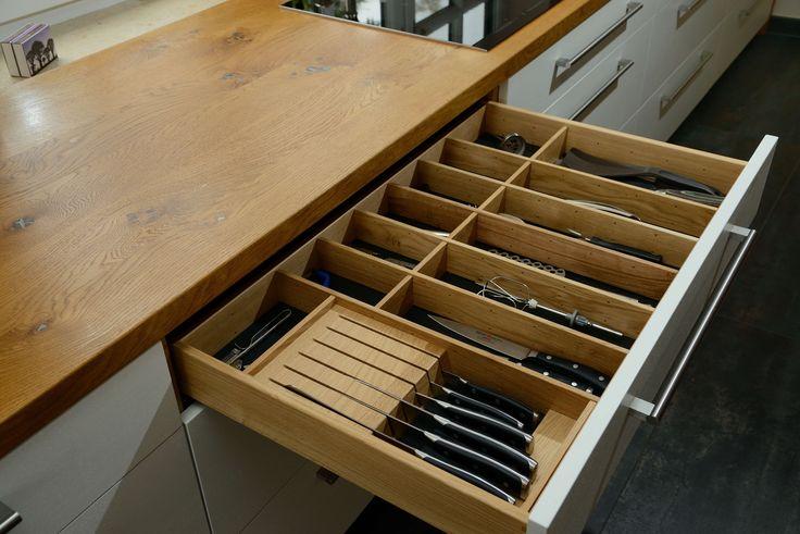 Besteckschublade aus Holz, Küche