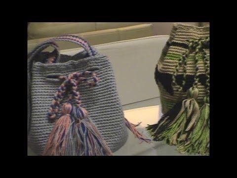 Mochilas Wayúu de Diseño con patrones y figuras geométricas. Explicación por…