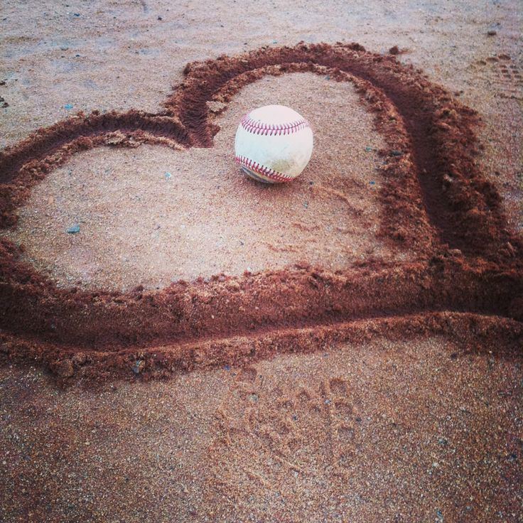For the Love of the Game. [[[would be cute the an engagement ring on it ;)]]]